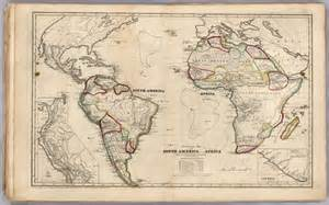 map of south america and africa africa and south america map america map