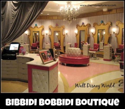 bibbidi bobbidi boutique salon at walt disney world resort