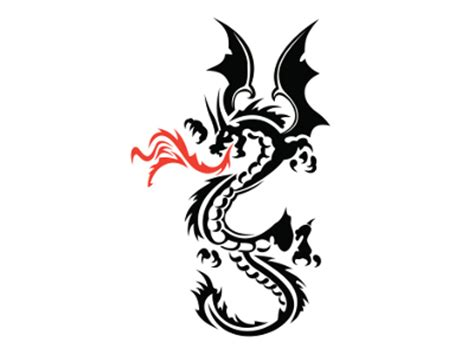 fire breathing dragon tattoo designs breathing free clip