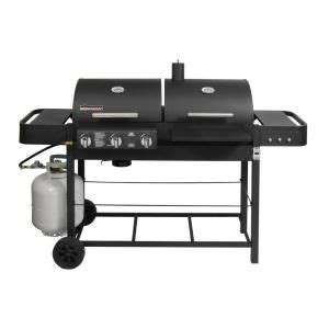 Backyard Grill Dual Gas Charcoal Grill Parts Inexpensive Easy To Service Gas And Charcoal Grill For