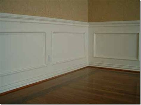 Simple Wainscoting by Wainscoting And Diying It Southern Hospitality