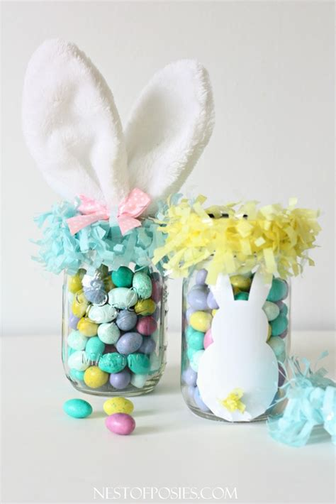 easter gift ideas mason jar easter basket