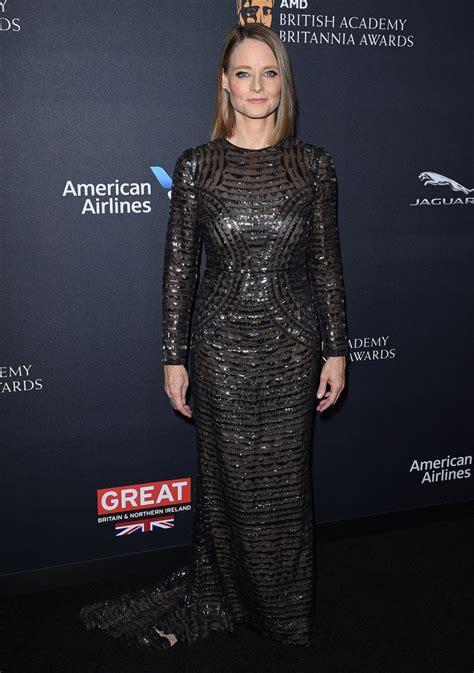 Dress Jodie jodie foster fishtail dress jodie foster looks stylebistro