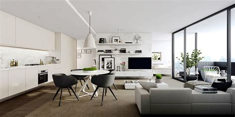 Small Apartment Floor Plans One Bedroom by Studio Apartment Interiors Inspiration
