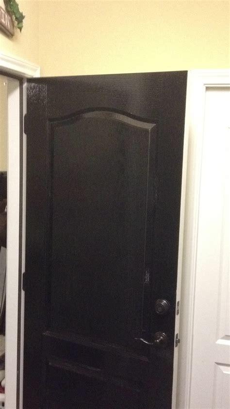 Painting Garage Door Black by Painted Black Garage Doors Pilotproject Org