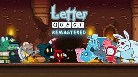 Letter Quest Breath Of The Letter Quest Remastered Volgende Week Naar De Nintendo Switch Daily Nintendo