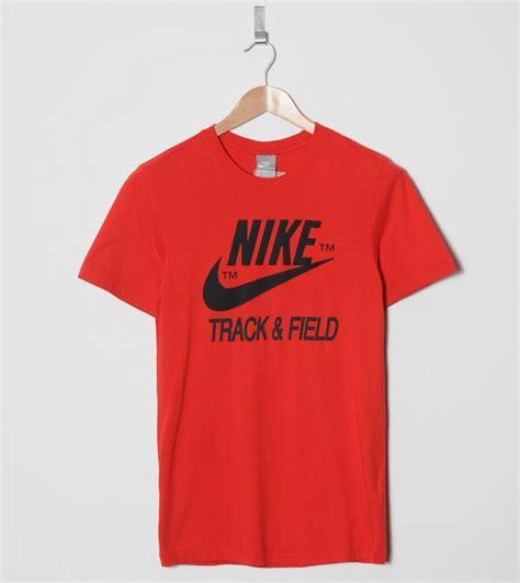 Tshirt Kaos Nike Track And Field nike track and field logo t shirt size
