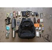 As Promised My Current EDC Bag Dump