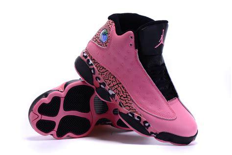 air jordan 1213 women c women air jordan 13 leopard pattern print pink basketball