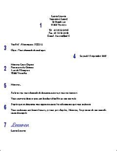 Prã Sentation Lettre Officielle La Pr 233 Sentation D Une Lettre