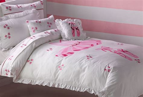 tutu quilt cover set doona duvet girls ballerina bedding