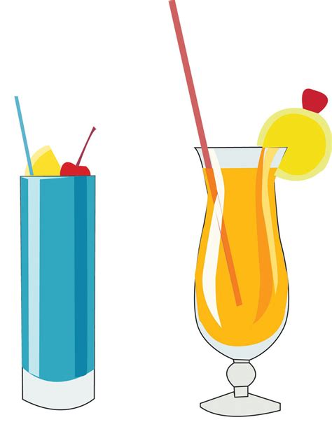 alcoholic drinks clipart clip drinks by moonlightfray on deviantart