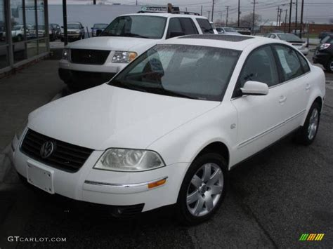 white volkswagen passat interior 2002 candy white volkswagen passat glx 4motion sedan
