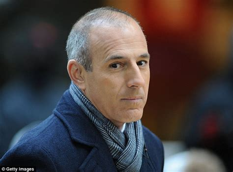 matt lauer haircut matt lauer believes nbc set him up for a fall with airing of sandusky and now trusts