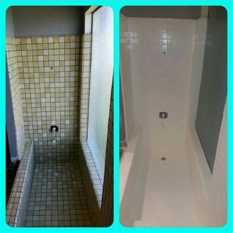 paint a bathtub with rustoleum shower makeover using rustoleum tub and tile paint turned