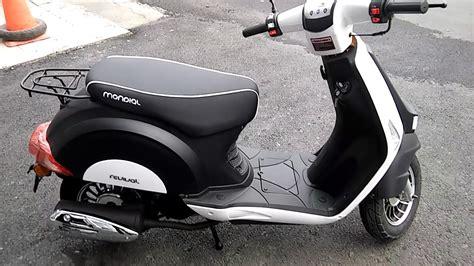mondial  revival scooter motosiklet  sinifi arac