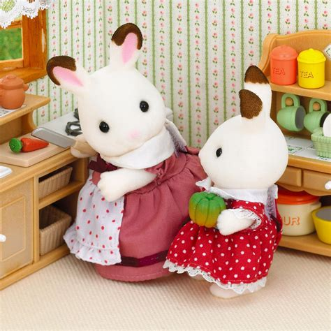 sylvanian country kitchen sylvanian families country kitchen set 163 24 00 hamleys