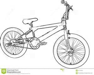 Hutch Bmx Bikes Royalty Free Stock Photography Bmx Sketch Image 41119197