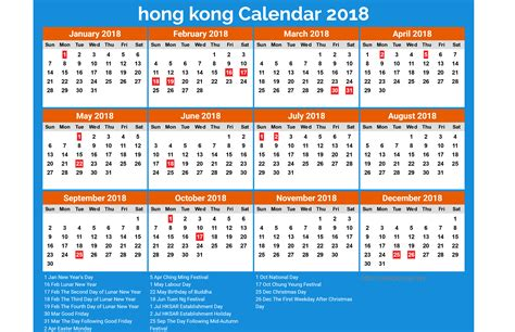 printable calendar hong kong holidays 2018 calendar hong kong free printable calendars 2018