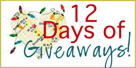 12 Days Giveaway - 12 days of giveaways day one loveday 31 we heart astoria