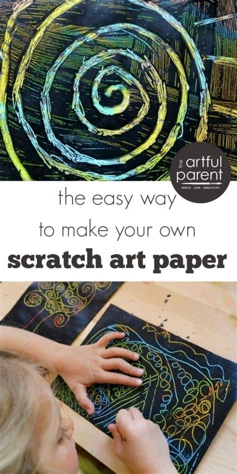 How To Make Scratchboard Paper - 25 best ideas about scratch on