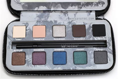 Decay Smoked Palette decay smoked palette review swatches from