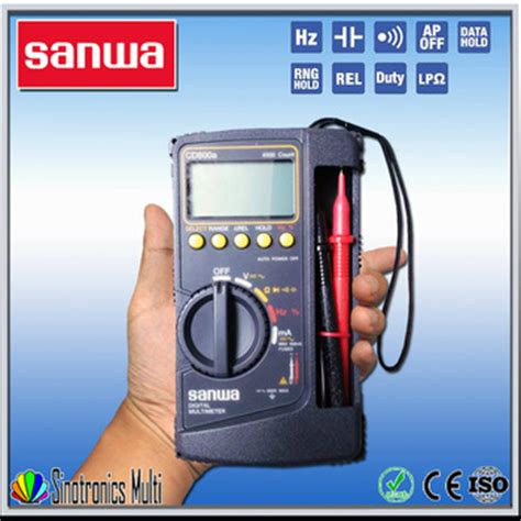 Limited Digital Multimeter Sanwa Cd800a best digital multimeter sanwa cd800a buy digital multimeter sanwa cd800a product on alibaba