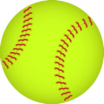softball color images of a softball impremedia net