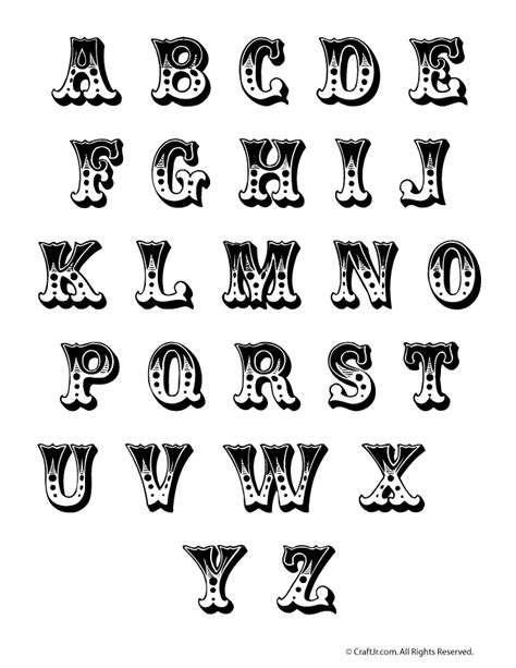 printable carnival fonts carnival circus letters fonts pinterest