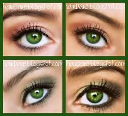 least common eye color hair green eyed goddess