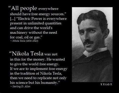 Tesla Leadership Nikola Tesla Quotes Success Quotesgram