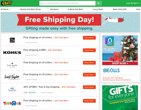 free shipping day guarantees delivery today is national free shipping day friday december 16