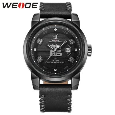 Jam Tangan Dw Leather Kulit Black 1 weide jam tangan analog kulit uv1509 black black jakartanotebook