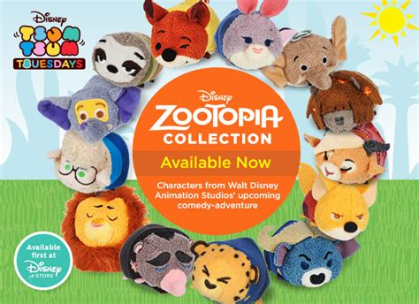 theme song zootropolis zootopia zootropolis tsum tsum collection out now