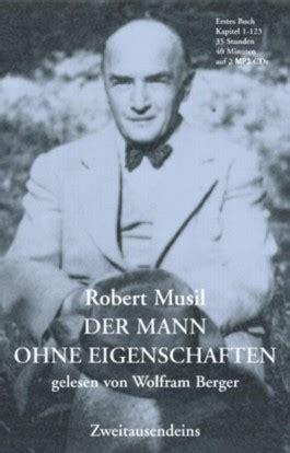 H 246 Rbuch Der Mann Ohne Eigenschaften Von Robert Musil Bei