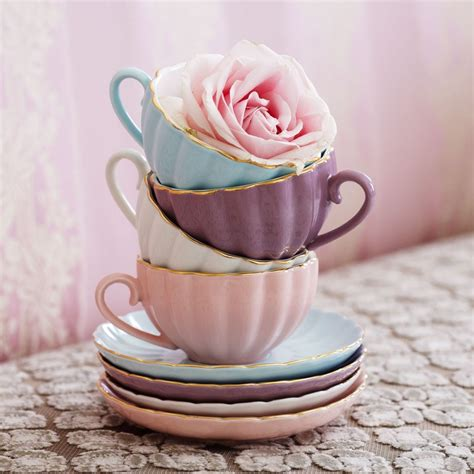 Bilder Teetasse by Pastel Teacups Pink Pictures Photos And Images