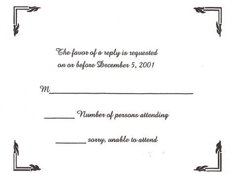 wedding invitation wording wedding invitation reply templates