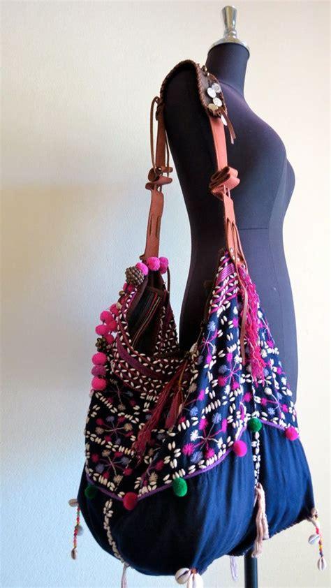 Handmade Bags And Purses - ethnic handmade handbags vintage fabric tote bohemian