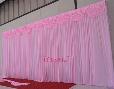 20 ft curtains 20 foot curtains 20 x 10 white fabric backdrop curtain