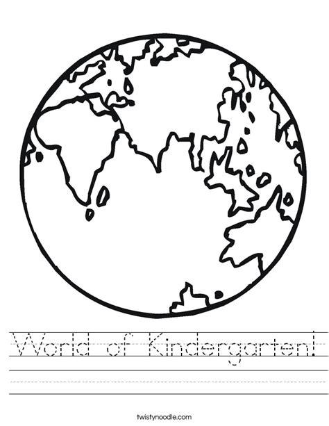 earth rotation coloring pages world of kindergarten worksheet twisty noodle