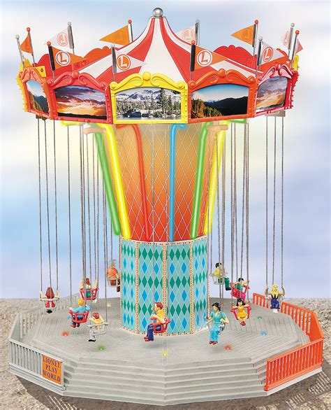 swing amusement ride lionel amusement park swing ride