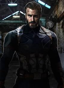 Captain America Infinity Captain America Infinity War By Timetravel6000v2