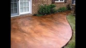 concrete stain for patio creative stained concrete patio decorating ideas