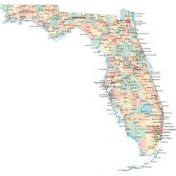 florida map with towns florida road map fl road map florida highway map