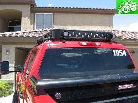 Road Roof Racks For Trucks by Roof Rack Rack With Hid Rigid Lights For 4 Door