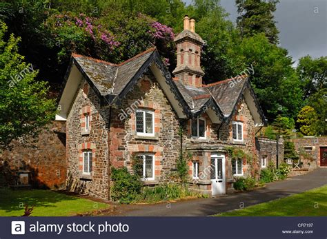esl buying a house old english brick house at the entrance of lifton park lifton stock photo royalty