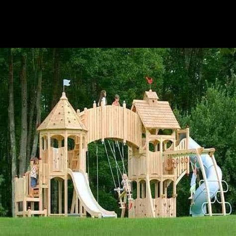 castle swing set plans pin by genny on alex should look at this pinterest