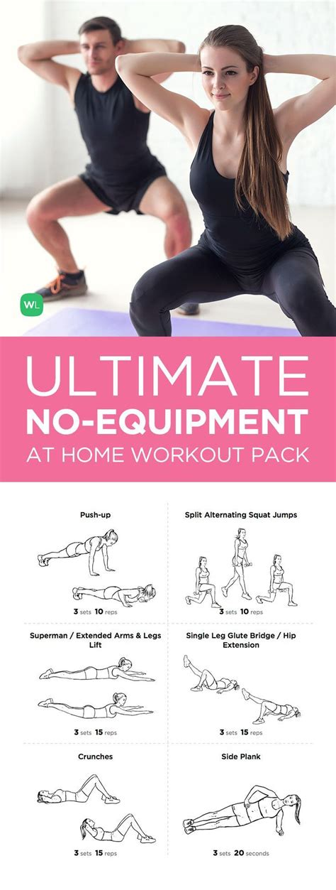 1000 ideas about no equipment workout on