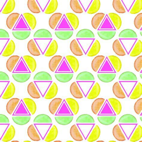 geometric neon pattern neon citrus geometric pattern on behance
