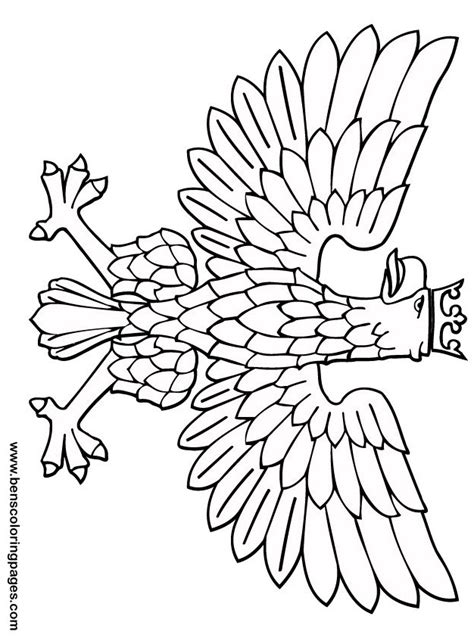 eagle mask coloring page free coloring pages of totem pole eagles
